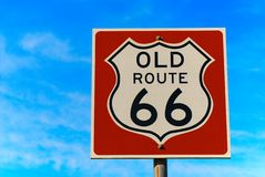 Route sixty six Royalty Free Stock Photo