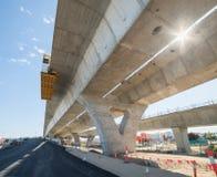 Route sous la reconstruction Image stock