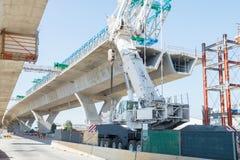 Route sous la reconstruction Images stock