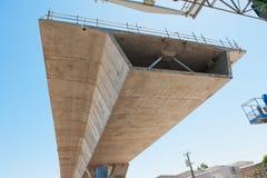 Route sous la reconstruction Photos libres de droits