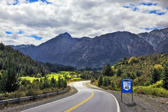 The  Route 40, southern Argentina Royalty Free Stock Photography