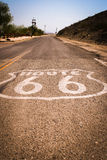 Route 66. The starting point of Route 66 Royalty Free Stock Photo
