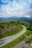 Route sur la montagne Image stock