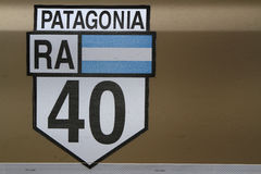 Route 40 symbol Stock Photography