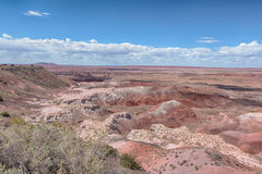 Route 66: Tawa Point, Painted Desert, Petrified Forest National Royalty Free Stock Image