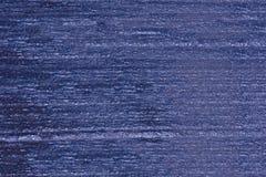 Route texturisée d'asphalte bleu photographie stock