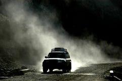 Route tibétaine Photographie stock libre de droits