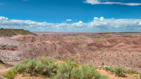 Route 66: Tiponi Point, Painted Desert, Petrified Forest Nationa Royalty Free Stock Photo