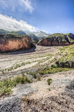 Route 13 to Iruya in Salta Province, Argentina Royalty Free Stock Photo