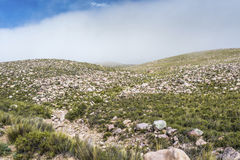 Route 13 to Iruya in Salta Province, Argentina Royalty Free Stock Photography