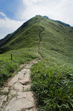 A route to summit Stock Photography