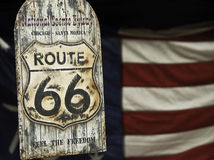 Route66. Took this pic on a fair event at nagoya Royalty Free Stock Photos