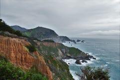 Route une, la Californie, Etats-Unis de route photographie stock libre de droits