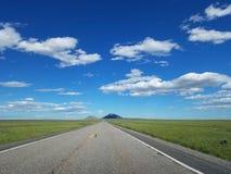 Route 20 van de V.S. dichtbij Arco, Idaho Royalty-vrije Stock Foto