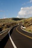 Route venteuse Photos stock