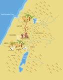Route vers Bethlehem Image stock