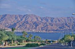Route vers Eilat Photos libres de droits