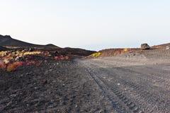 Route vers l'Etna image libre de droits