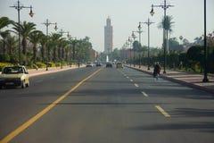 Route vers la Médina Photographie stock libre de droits