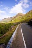 Route vers le bas dans la gorge Coe Photographie stock