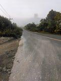 Route vers le haut de la montagne Images libres de droits