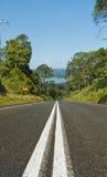 Route vers le lac Baroon Photos libres de droits