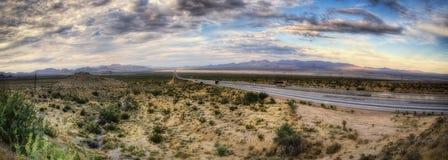 Route vers Vegas photo libre de droits