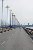 Route vers Venise Images libres de droits
