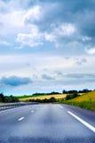 Route vide photo stock