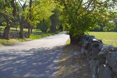 Route vide Photos stock