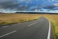 Route vide Photos libres de droits