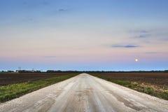Route vide Photographie stock libre de droits