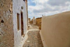 Route vide en Grèce Photo libre de droits