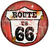 Route 66 stock illustration
