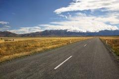 Route-voyage étonnant Photographie stock