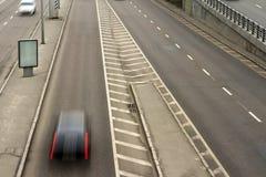 Route, vue supérieure Photo libre de droits