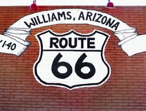 Route 66 Williams, Arizona USA lizenzfreie stockfotografie