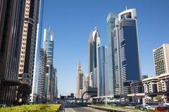 Route zayed par cheik photographie stock libre de droits