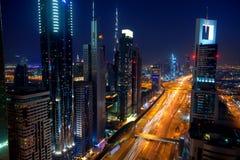 Route zayed par cheik Photo stock