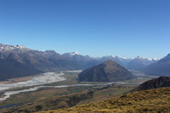 Routeburn Dart Valley Royalty Free Stock Photography