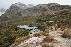 Routeburn hut, New Zealand Royalty Free Stock Images