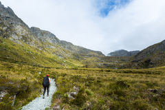 Routeburn Track Royalty Free Stock Images