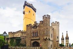 Castillo de Stolzenfels. Imágenes de archivo libres de regalías