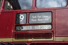 Routemaster Royalty Free Stock Images