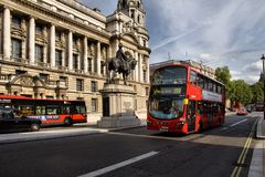 Routemaster double decker bus Royalty Free Stock Photo