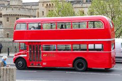 Routemaster double-decker Royalty Free Stock Photography