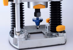 Router cutter Stock Photo