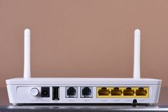 Router da rede wireless imagem de stock royalty free