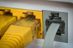 Router de ADSL Imagenes de archivo