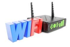 Router del Wi-Fi Imagen de archivo libre de regalías